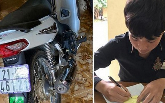 Lái xe bằng chân khi đổ đèo, thanh niên ở Yên Bái bị xử phạt hơn 8 triệu đồng