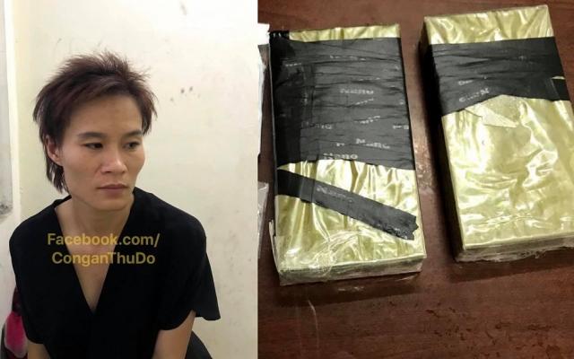 Hà Nội: Khởi tố, bắt tạm giam đối tượng vận chuyển 980,26 gam heroin và 19,460g ma túy tổng hợp