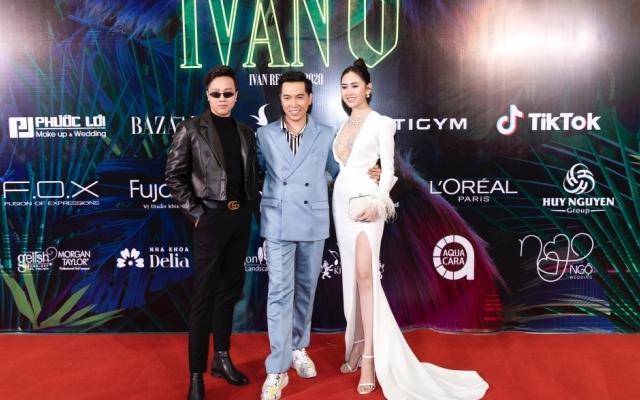 """Dàn """"chân dài"""" đình đám đổ bộ show thời trang của NTK Ivan Trần"""