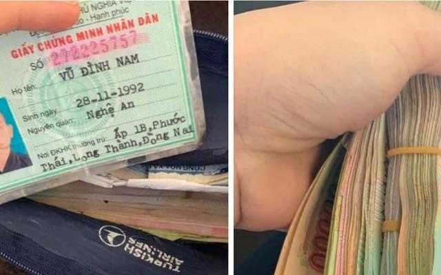 Nữ nhân viên bán hàng trả lại chiếc túi chứa hơn 40 triệu đồng cho người đánh rơi
