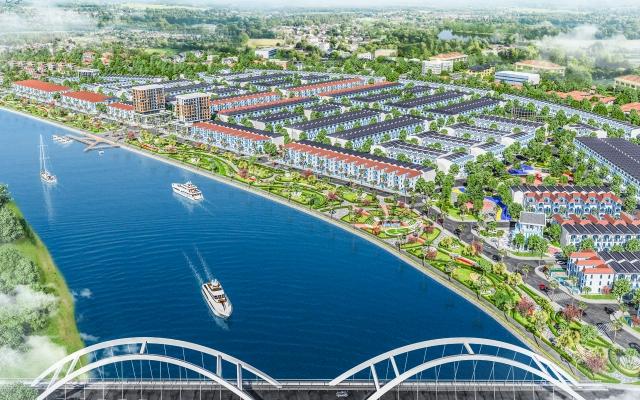 """Dự án Mallorca River City - """"Hòn ngọc"""" bên dòng sông Cổ Cò"""
