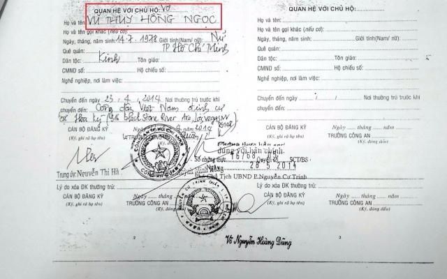 Vì sao đã kết hôn, ông Chiêm Quốc Thái vẫn xin được giấy xác nhận độc thân?