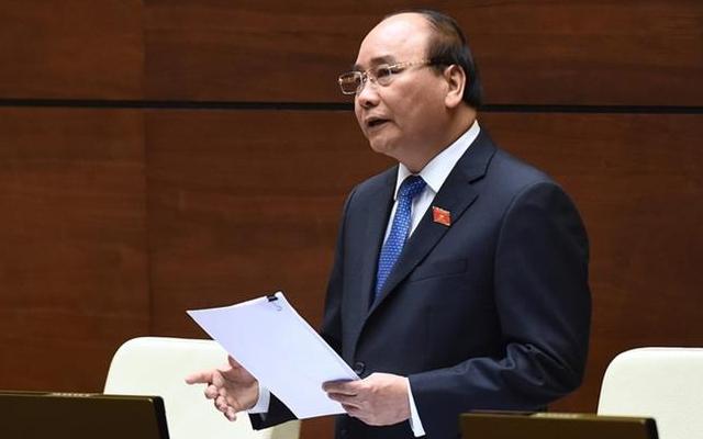 TRỰC TIẾP: Thủ tướng trả lời chất vấn trước Quốc hội