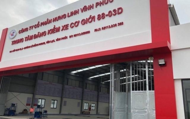 Vĩnh Phúc: Đình chỉ hai đăng kiểm viên Trung tâm Đăng kiểm xe 88- 03D