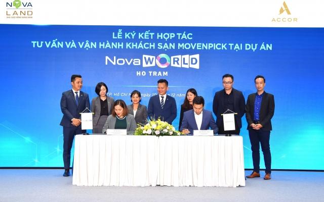 Thương hiệu khách sạn Movenpick của tập đoàn Accor sẽ có mặt tại Phân kỳ Wonderland – Novaworld Ho Tram