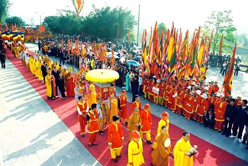 Đầu xuân điểm qua 10 lễ hội lớn tại Miền Bắc
