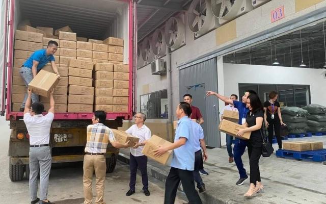 Nhà máy may lớn nhất Nghệ An xuất khẩu lô hàng đầu tiên sang Mỹ