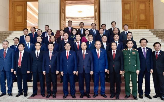 Bàn giao công việc của Thủ tướng Chính phủ