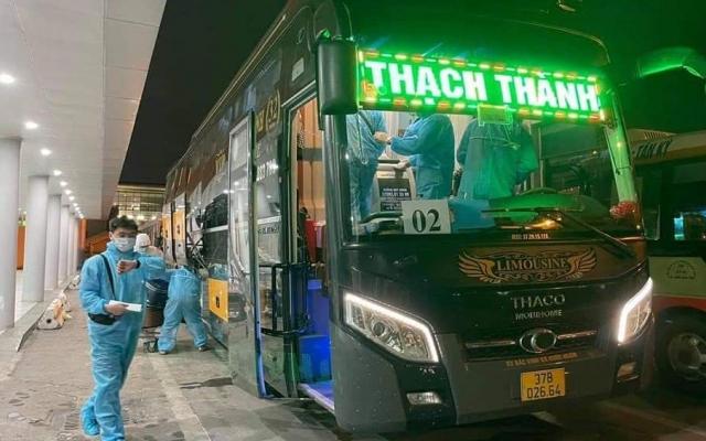 Nghệ An đón thêm 248 công dân từ Hàn Quốc về cách ly phòng dịch Covid-19