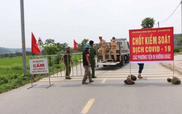 Huyện Thuận Thành xin đề xuất cách ly phong toả toàn huyện