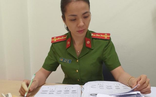 Nữ Đại úy Công an xứ chè tận tụy phục vụ nhân dân