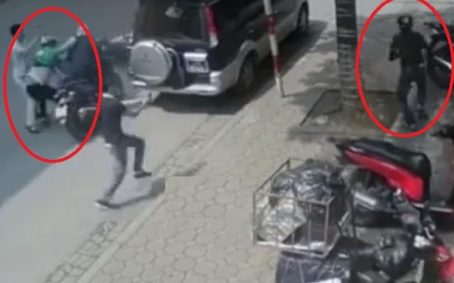 """Video: Công an mật phục, bắt giữ nhóm đối tượng phá khóa, trộm xe máy trong """"nháy mắt"""""""
