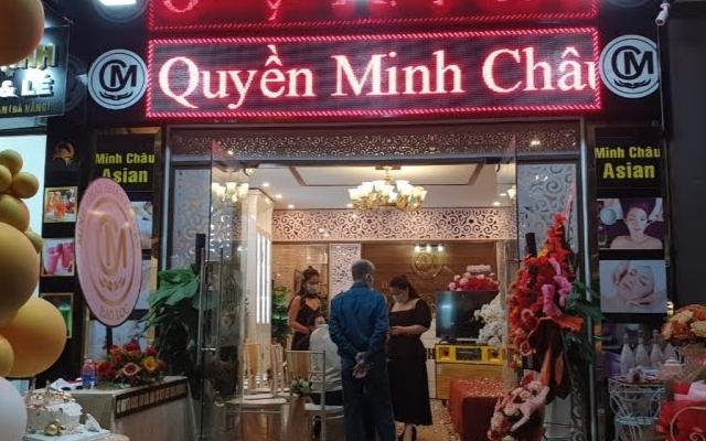 Thẩm mỹ viện Minh Châu Asian Luxury bị xử phạt 7,5 triệu đồng