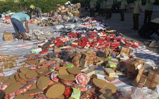 Quảng Ninh tiêu hủy tang vật vi phạm hành chính đợt một gần 6 tỷ đồng