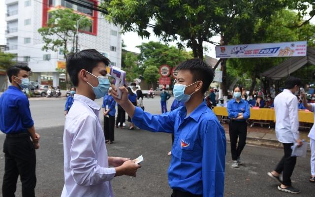 Hà Tĩnh: Hơn 17.300 thí sinh bước vào ngày thi đầu tiên