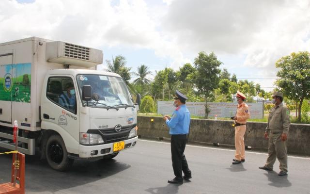 Không cho phép xe vận chuyển hàng hoá ngoài tỉnh vào địa bàn TP Bạc Liêu