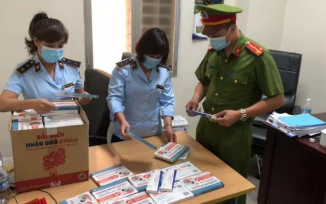 Thiếu nữ 9X người Nam Định bị bắt do bán 145 kit test Covid-19 không rõ nguồn gốc
