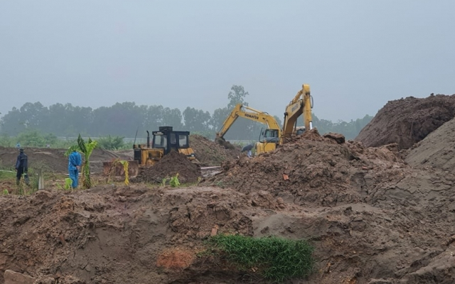 Vĩnh Phúc: Giải phóng mặt bằng 6 hộ để thực hiện dự án CCN làng nghề Minh Phương