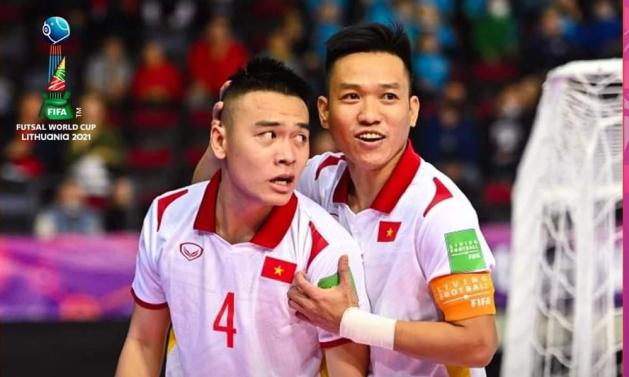 Tuyển futsal Việt Nam xuất sắc hạ gục Panama