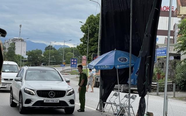 Người dân vào tỉnh Thái Nguyên vẫn phải xét nghiệm COVID-19
