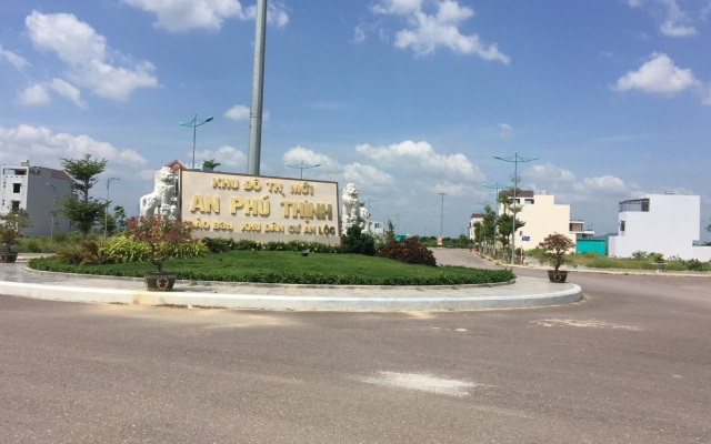 Khu B1 tại Dự án Khu đô thị mới An Phú Thịnh chưa đủ điều kiện kiện giao dịch