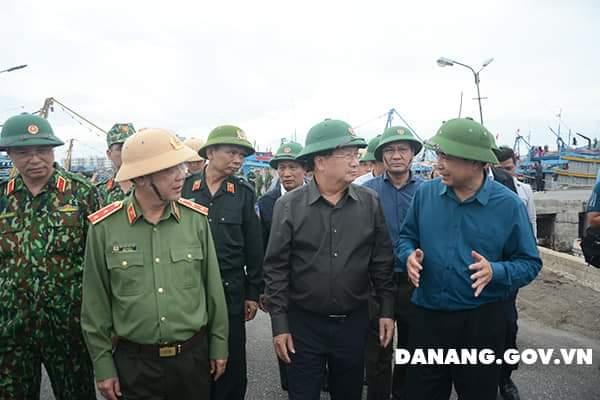 Lập Ban chỉ đạo tiền phương tại Đà Nẵng để chỉ đạo ứng phó bão số 9