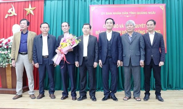 Bí thư huyện Trà Bồng làm Giám đốc Sở Công thương tỉnh Quảng Ngãi