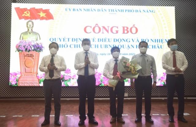 Ông Nguyễn Văn Duy làm Phó Chủ tịch UBND quận Hải Châu