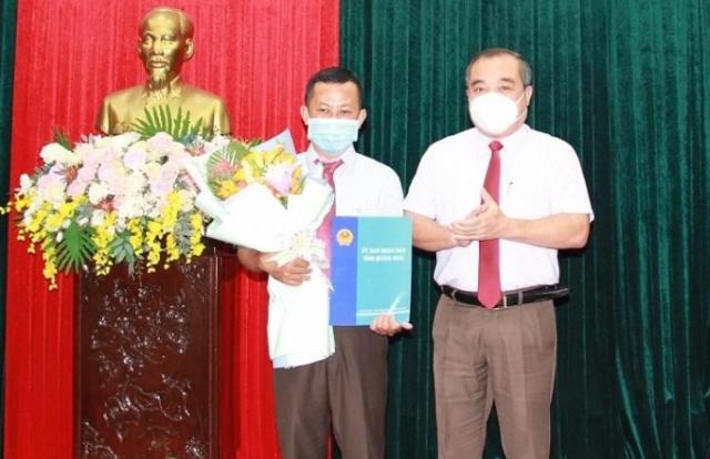 Bổ nhiệm Phó Chánh Văn phòng UBND tỉnh Quảng Ngãi