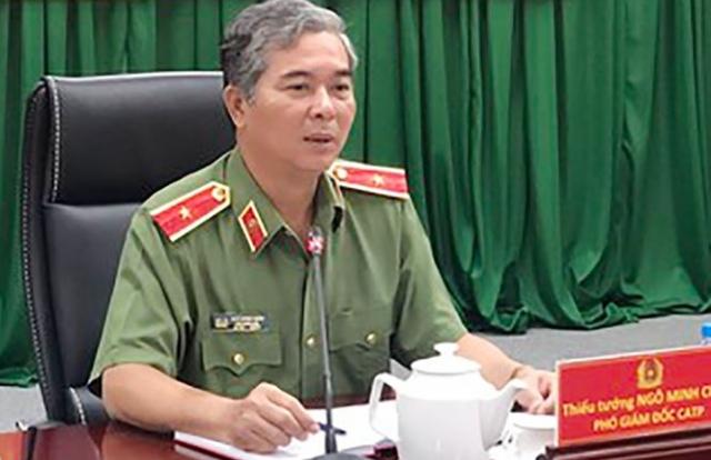 Tướng Ngô Minh Châu được giới thiệu làm Phó Chủ tịch UBND TPHCM