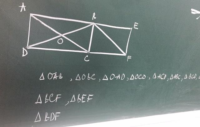Bài toán đếm hình tam giác khiến phụ huynh hoang mang