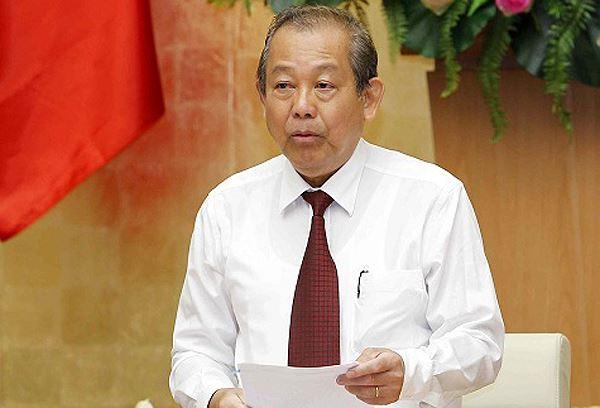 Phó Thủ tướng: 'Tham nhũng vặt' gây bức xúc, làm xói mòn niềm tin