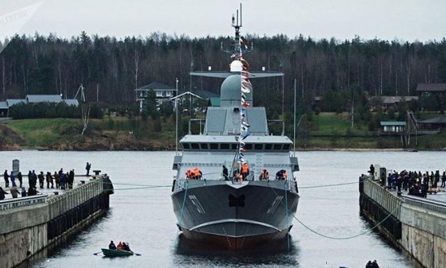 Tàu hộ tống mang tên lửa 'vượt mọi hệ thống phòng không' của Nga đi vào Địa Trung Hải