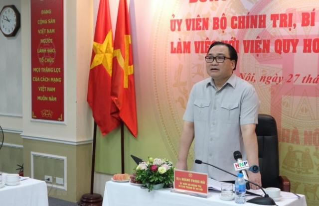 Bí thư Thành ủy Hà Nôi: Không để người dân phải bất ngờ về quy hoạch