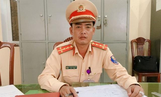Đại tá quân đội về hưu viết thư cảm ơn CSGT