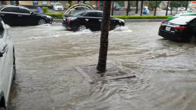 Thanh Hóa:  Mưa lớn, nhiều nhà dân bị ngập lụt