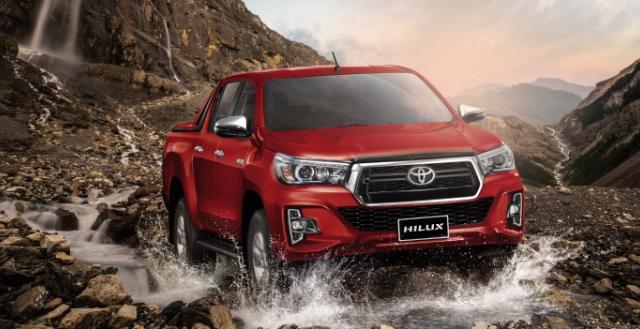 Toyota Hilux bất ngờ giảm giá