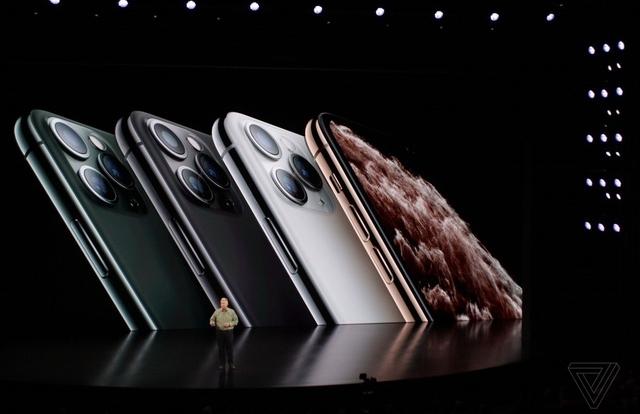 Cận cảnh bộ đôi iPhone 11 Pro và iPhone 11 Pro với cụm 3 camera vừa ra mắt