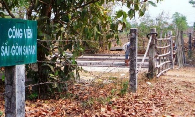 Sẽ không lập Resort ở Công viên Sài Gòn Safari