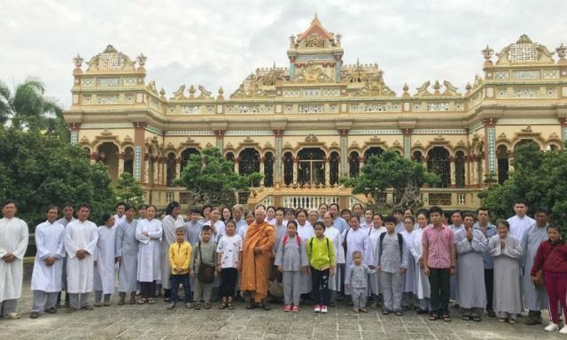 Độc đáo chùa Vĩnh Tràng