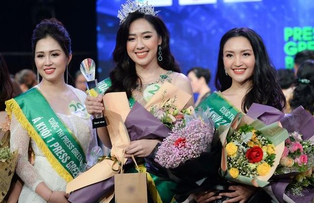 Phóng viên Dân trí đăng quang Á khôi 2 Press Green Beauty 2019