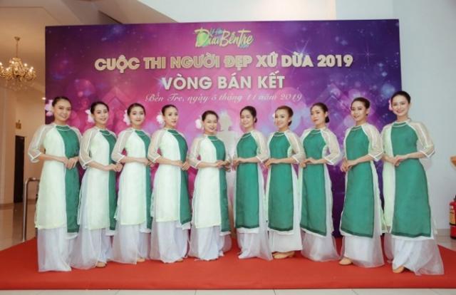 20 người đẹp bước vào chung kết cuộc thi Người đẹp xứ dừa 2019