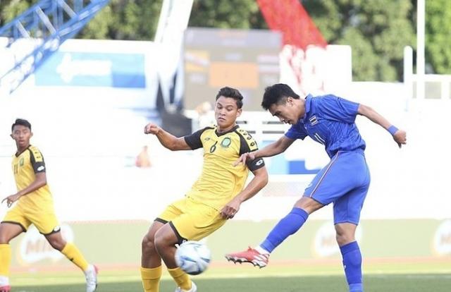U22 Thái Lan dội 'mưa gôn' vào lưới Brunei