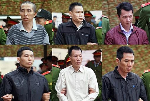 Tuyên tử hình 6 kẻ sát hại nữ sinh giao gà ở Điện Biên
