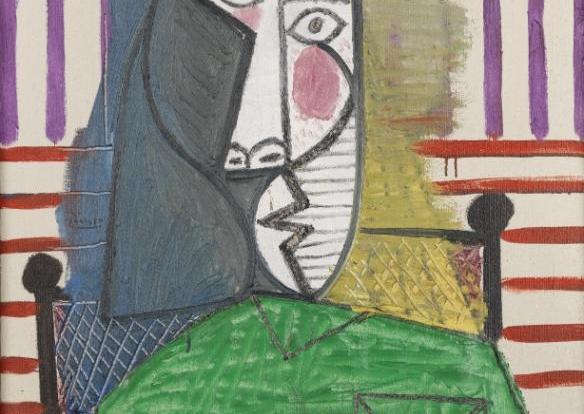 Tự dưng vào phòng trưng bày xé bức tranh trị giá 20 triệu bảng của danh họa Picasso