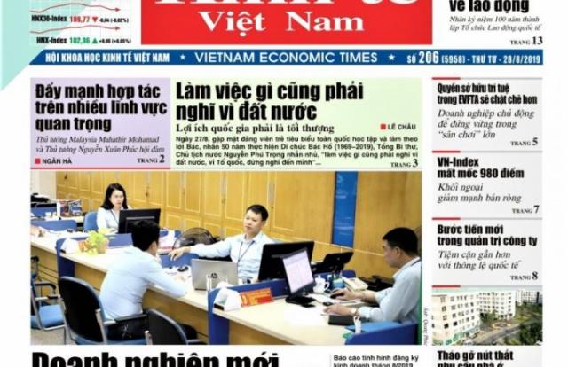 Báo Nhân đạo và Đời sống, Thời báo Kinh tế Việt Nam phải ngừng xuất bản