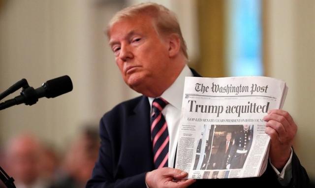 """Sự """"trả thù"""" của Tổng thống Trump hậu luận tội"""