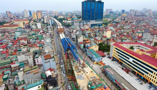 Toàn cảnh tuyến đường 9.400 tỷ ở Hà Nội