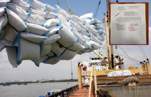Chỉ sau 7 giây, hơn 38.000 tấn gạo được mở tờ khai hải quan