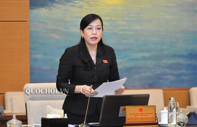 Quốc hội miễn nhiệm Ủy viên Ủy ban Thường vụ Quốc hội Nguyễn Thanh Hải